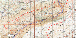 """Моментални граници на заштитеното подрачје на споменикот на природата """"Кањонот Матка"""""""