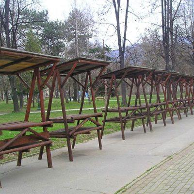 Дрвени тезги